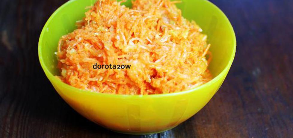 Surówka z marchewki i mango (autor: dorota20w)