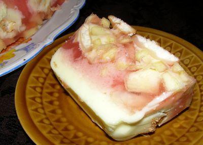 Deser jabłkowy na zimno