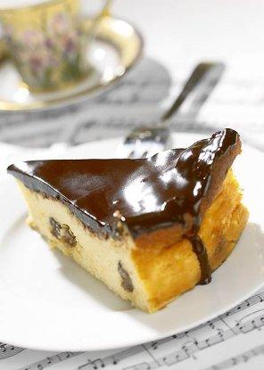 Sernik wiedeński z czekoladą  prosty przepis i składniki