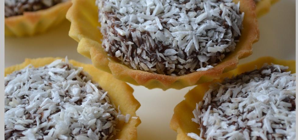 Babeczki z masą czekoladową z kokosem (autor: wyattearp ...