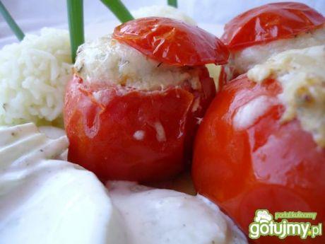 Przepis  letnie zapiekane pomidorki przepis