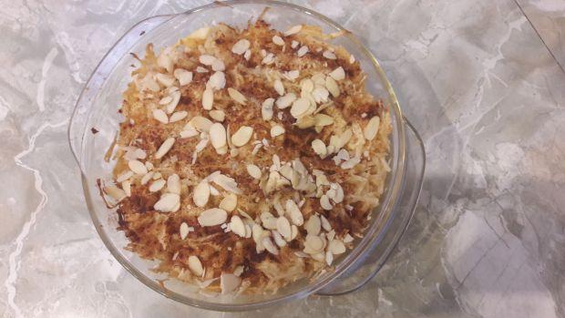 Przepis  ryż zapiekany z jabłkami przepis