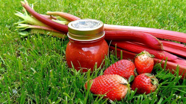Przepis  dżem rabarbarowo-truskawkowy przepis