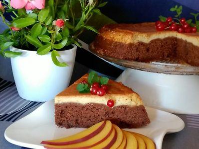 Magiczne ciasto czekoladowo