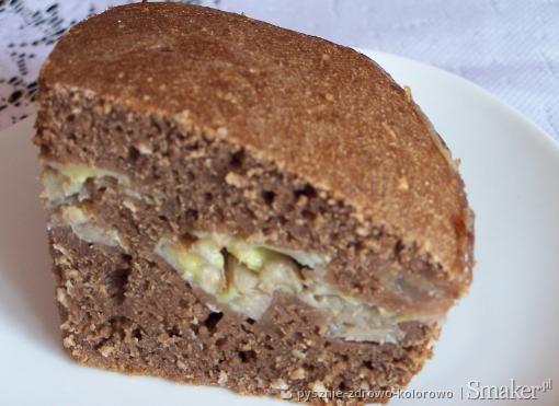 Ciasto kakaowo-bananowe z kaszy manny