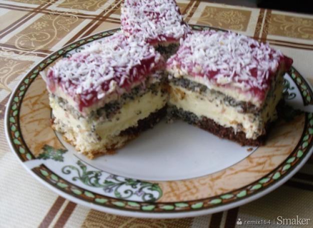 Ciasto 3 w 1.