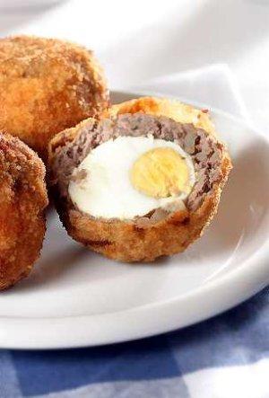 Scotch eggs (jaja po szkocku)  prosty przepis i składniki