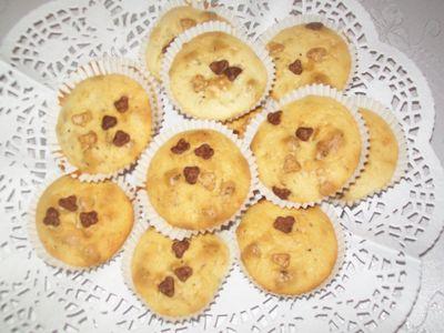Muffiny z płatkami lion