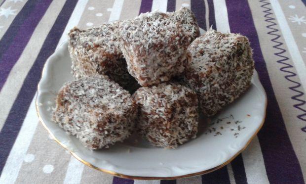 Przepis  kokosanki czekoladowe przepis