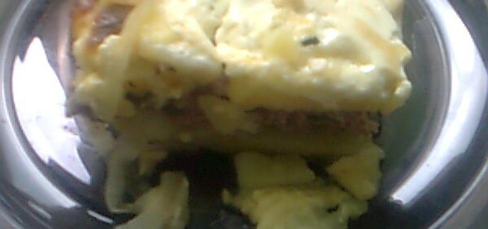 Zapiekanka z ziemniakami i mielonym (autor: anulka69 ...