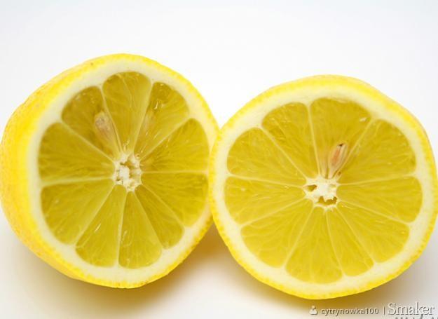 Cytrynówka na spirytusie nalewka cytrynowa