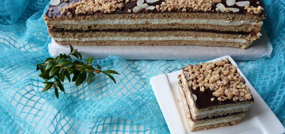 Ciasto miodowo-orzechowe (autor: ikrakowianka)