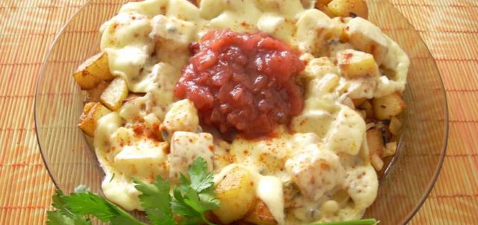 Ziemniaki smażone z oscypkiem (autor: smacznapyza ...