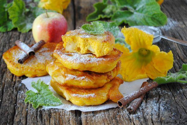 Przepis  racuchy dyniowe z jabłkami przepis