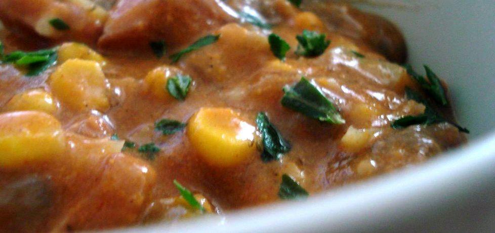 Pożywna zupa meksykańska z wołowiną (autor: ania67 ...