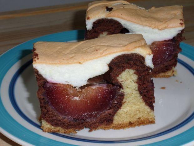 Ciasto ze śliwkami  sposób przygotowania