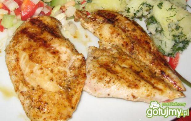 Przepis  grilowana pierś kurczaka przepis