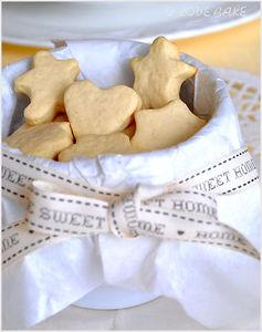 Kruche ciasteczka maślane z wanilią