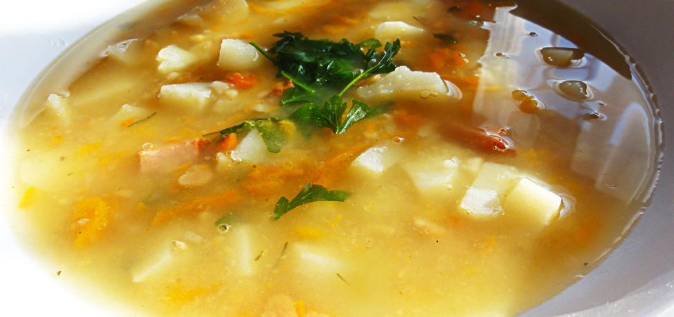 Zupa grochowa z marchewką (autor: ilonaalbertos)