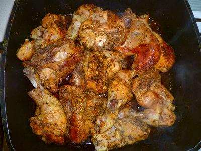Pikantny kurczak w ostrej papryce