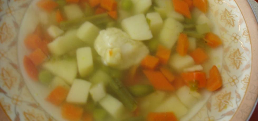 Zupa jarzynowa z mrożonych warzyw. (autor: cukiereczek ...