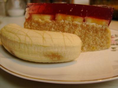 Bananowiec na zimno