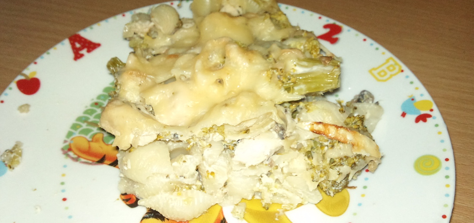 Zapiekanka makaronowa z brokułem (autor: alexm ...