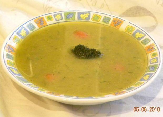 Przepis  zupa krem marchewkowo-brokułowy przepis