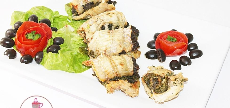 Roladki z ryby i szpinaku (autor: smakolykijoanny)