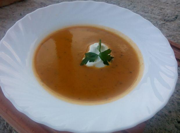 Przepis  zupa krem z batatów przepis