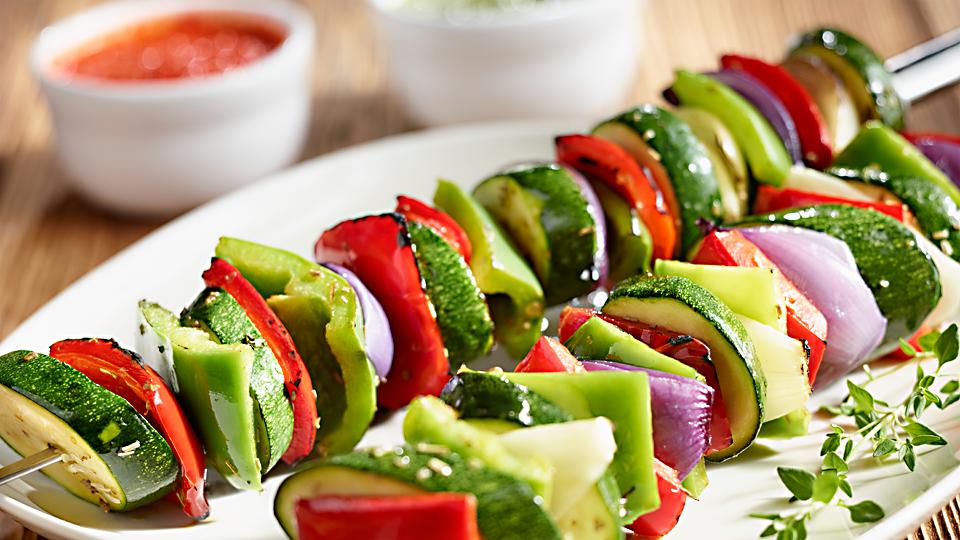 Przepis na szaszłyki warzywne z grilla