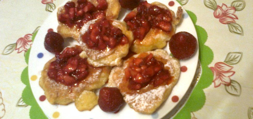 Jogurtowe placuszki z truskawkami (autor: katarzyna59 ...