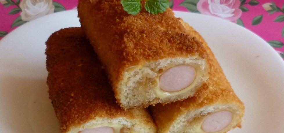 Krokiety z chleba tostowego (autor: krystyna32)