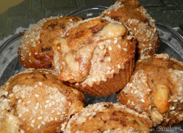 Chałwowo-kawowe muffinki