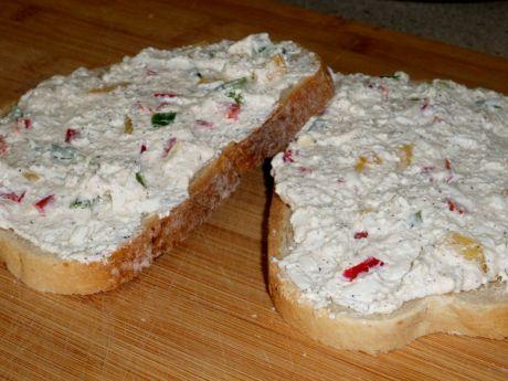 Przepis  pasta twarogowa do chleba przepis