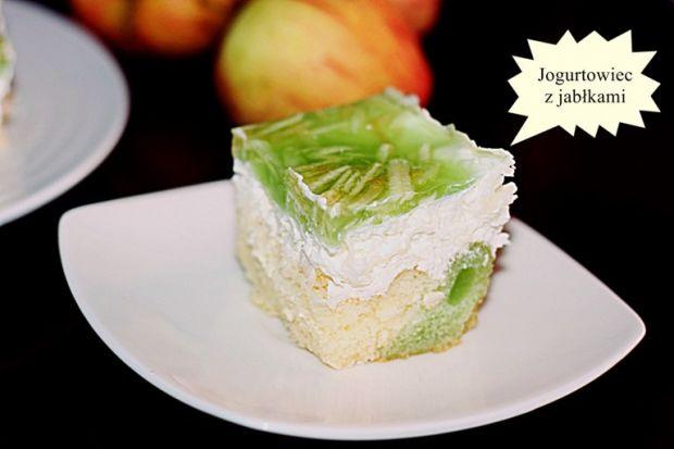 Przepis  jogurt-owiec z jabłkami przepis