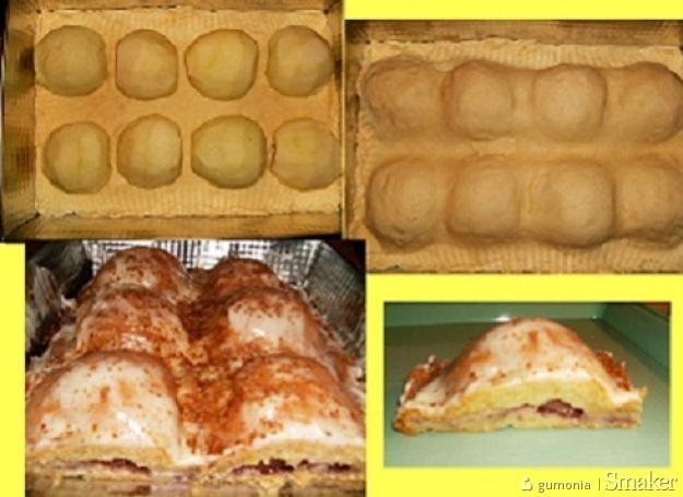 Ciasto połóweczki jabluszek ( bez jajek i cukru )
