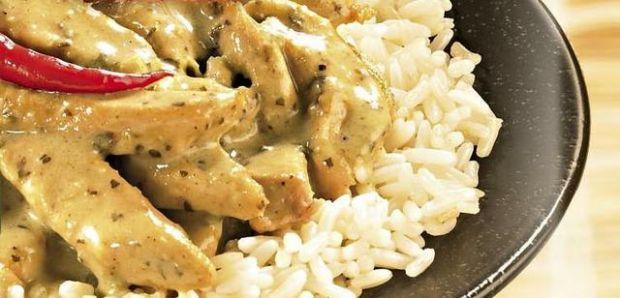 Przepis  kurczak w tajskim sosie curry przepis