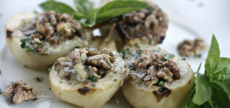 Gruszki pieczone z gorgonzolą i orzechami włoskimi (autor: kuchnia ...