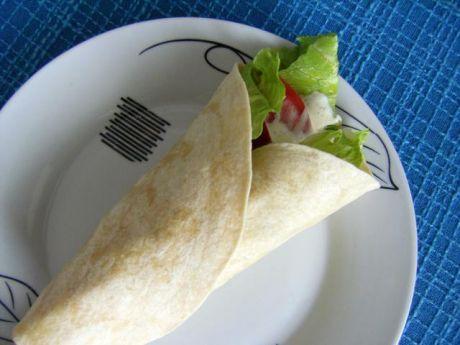Przepis  szybka tortilla z filetem z kurczaka przepis