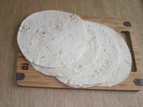 Przepis  placki tortilli  na mleku przepis