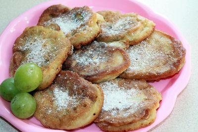 Racuchy jabłkowo