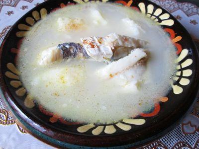 Zupa rybna z camembert