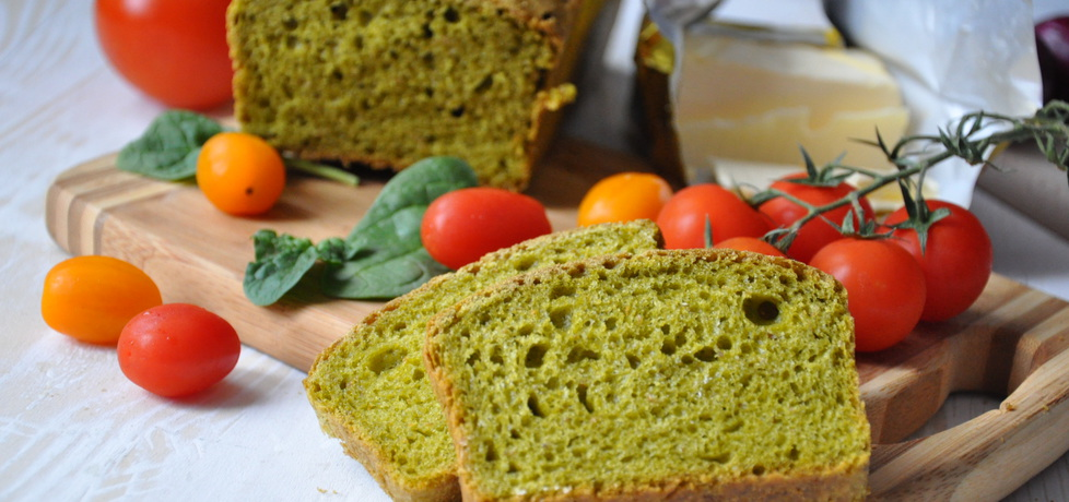 Chleb szpinakowy (autor: wiktoria29)