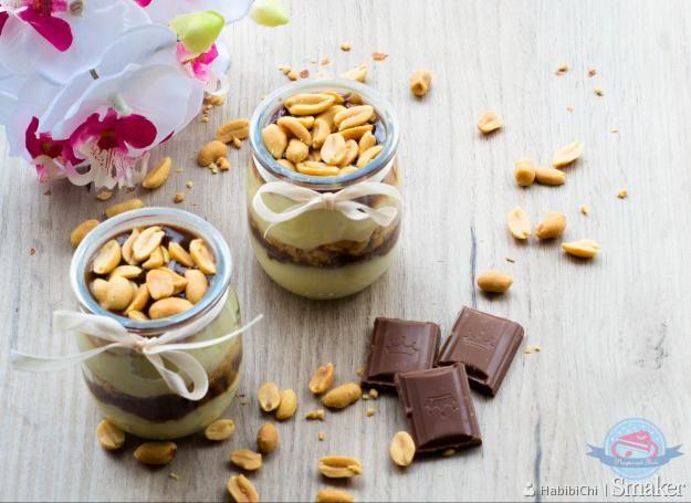 Deserki jaglane orzechowo-czekoladowe