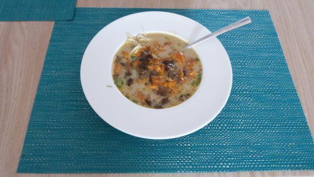 Przepis  jesienna zupa grzybowa przepis