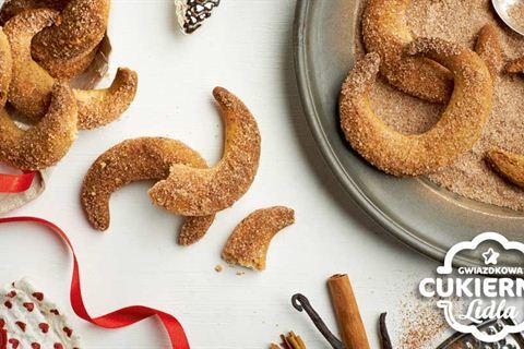 Przepis na kruche ciasteczka waniliowo-cynamonowe à la rogaliki ...