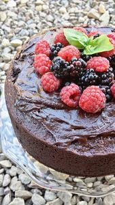 Buraczane ciasto czekoladowe ( bez tłuszczu)