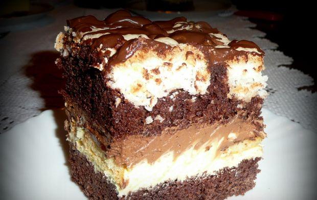 Ciasto Czekoladowo Kokosowe Z Delicjami Przepis Przepis