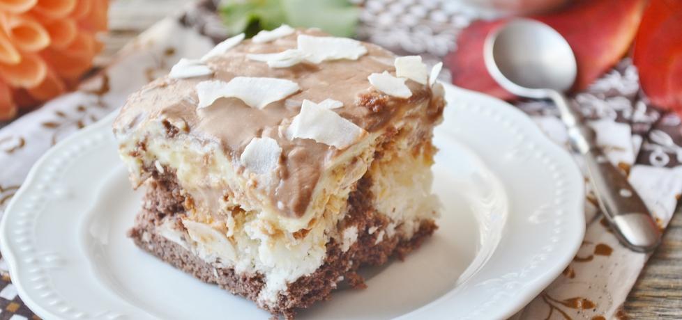 Ciasto czekoladowe z kokosem (autor: czekoladkam ...